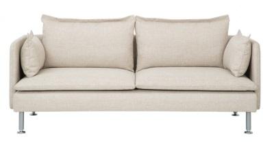 Beige soffa