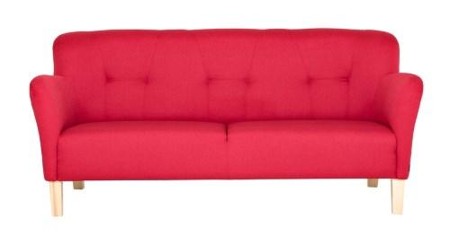 röd soffa