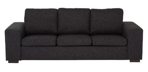 svart soffa