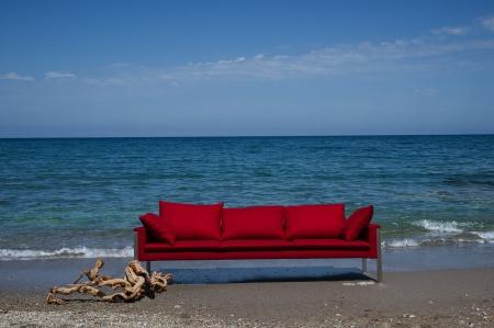 Vacker utsikt vid havet